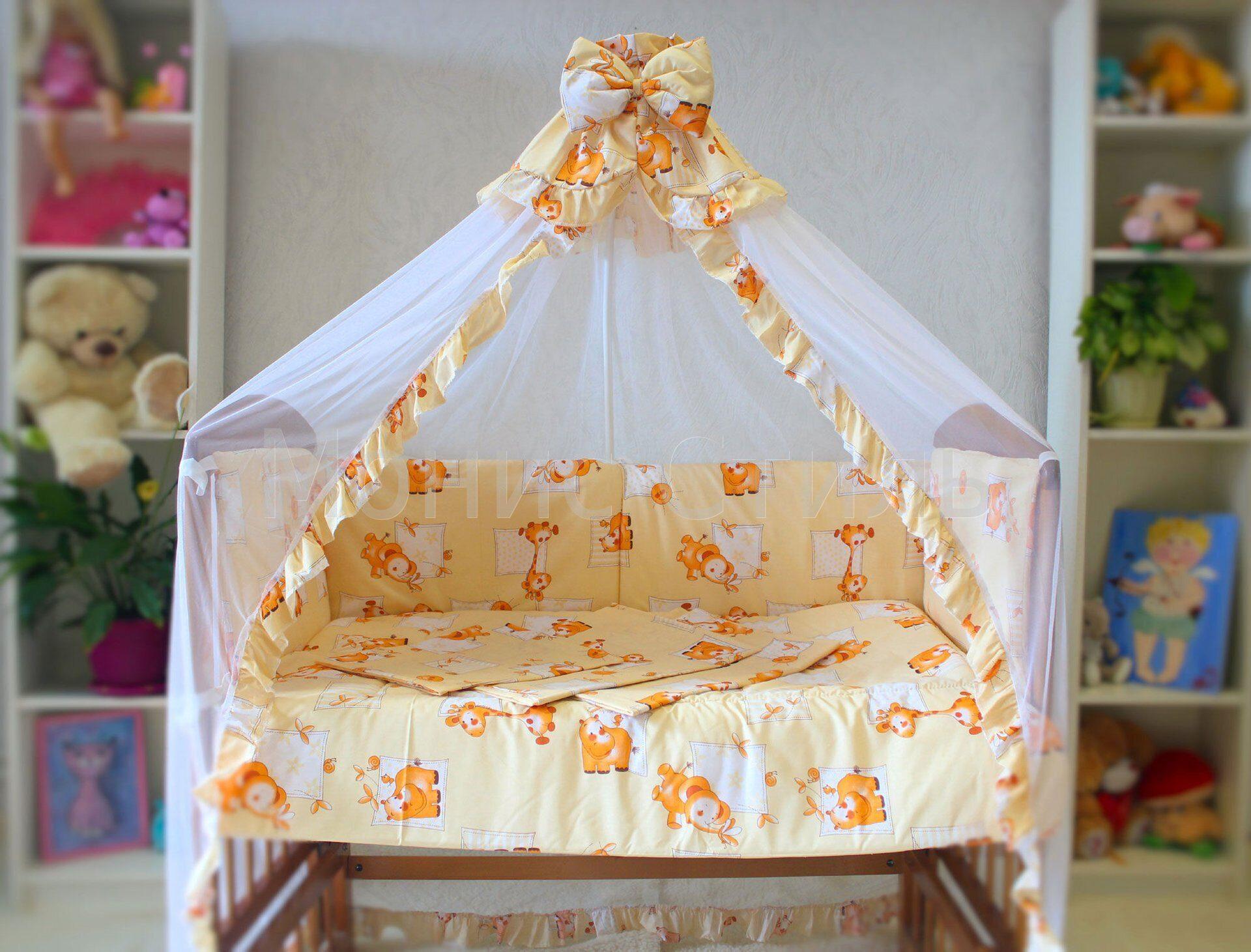Как сшить балдахин на детскую кроватку: выбор ткани и 12